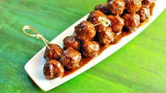 Root beer and BBQ sauce are the key to the best meatball appetizer for any cocktail or holiday party.
