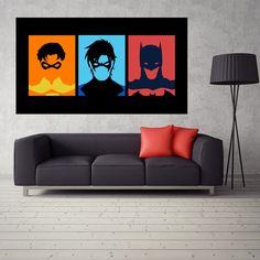 >> Click to Buy << Batman Robin Comic Superhero Poster Waterproof Silk Fabric Poster Bedroom Vinilos Adhesivos Decorativos Pared 24x42inch #Affiliate