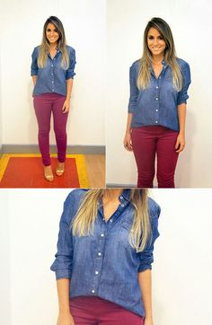 Jeans Cargo, Look Legging, Look Office, Rio Grande, Closet, Inspiration, Ideas, Women, Fashion