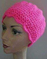 Crochet Head Hugger  Great for cancer patients Materials: 2.5 to 4 oz. yarn (I use Red Heart yarn)  Crochet Hook size: H or 8 for average size head
