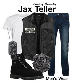 Sons of Anarchy by sparkle1277 on Polyvore featuring polyvore, La Perla, Bellfield, Lugz, rag & bone, Sons of Anarchy, men's fashion, menswear and clothing