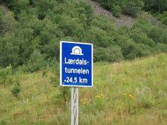 Laerdals tunnel! 24,5km!