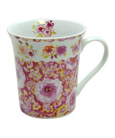 Take a look at this London Flower Mug by Dena - Set of Four by Zrike on #zulily today!