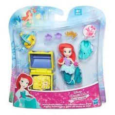 Hasbro Disney Princess Small Doll - Little Kingdom - Ariel's Treasure Chest (B5336)