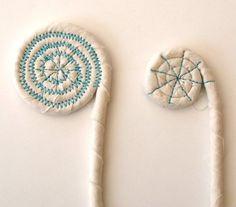 Make a pinched Coiled Basket from Scraps - Cloth Paper Scissors