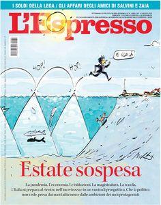 La copertina dell'Espresso in edicola e online da domenica 15 agosto