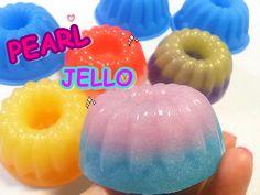 DIY Pearl Jelly Pudding Cupcake Without Glitter 반짝이 가루 없이 펄 젤리 푸딩 케이크 만들...