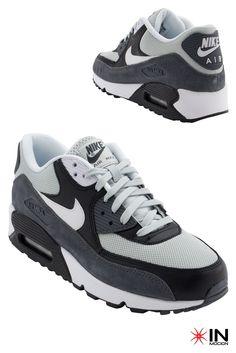 #Nike Air Max 90 Essential Tamanhos: 39 a 44  #Sneakers mais informações: http://www.inmocion.net/Nike-Air-Max-90-Essential-537384--170-pt?utm_source=pinterest&utm_medium=537384Z-170_Nike_p&utm_campaign=Nike