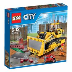 LEGO City_60074_Bulldozer_384 pcs/pzs_New Sealed Set #LEGO