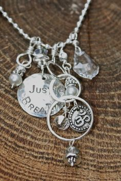 Just Breathe Necklace - from my friend Jennifer of Mermaid Tears - for the unique and unusual jewelry ideas, or something you'd like to see hammered out for you on sterling silver, she's the one - the one you've been waiting to meet. and just in time for the holidays!! ... you're welcome <3