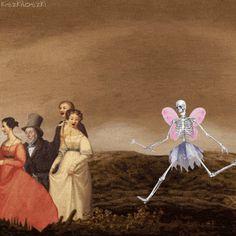 Animated Artwork by Kajetan Obarski, 2016, Artist's Facebook Page: https://www.facebook.com/kiszkiloszki/ Tumblr Page: http://kiszkiloszki.tumblr.com/kajetanobarski #fantasy #imagination