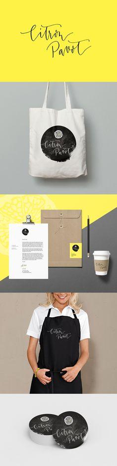 Logotype I Identité visuelle I Visual identity I Design by Nice Plume & Crème de Papier I For Citron Pavot