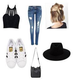 """Mali's fashion"" by rochelle-laffayette on Polyvore featuring Posh Girl, adidas Originals and rag & bone"