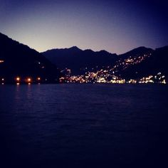 Because the night is dark and full of sights. #Nainital #home