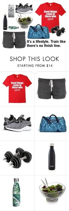 """""""The Gym and Fitspo Life"""" by bookworm528 ❤ liked on Polyvore featuring Boohoo, adidas, Vera Bradley, S'well and Nambé"""