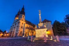 Holy Trinity Square, Trnava, Slovakia