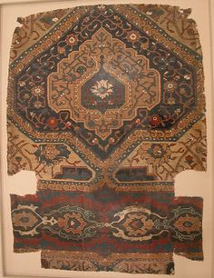 Fragment of a Northwest Persian Medallion Carpet