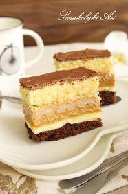 Smakołyki Asi: Ciasto Toffi Unique Desserts, Holiday Desserts, Delicious Desserts, Polish Desserts, Polish Recipes, Sweet Recipes, Cake Recipes, Pumpkin Cheesecake, Homemade Cakes