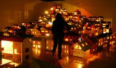 Rachel Whiteread's dollhouse installation
