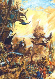 Rois des Tombes, par (auteur inconnu), in Warhammer Battle 8e édition, livre d'armée Rois des Tombes, par Games Workshop