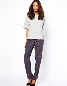 Enlarge ASOS Peg Pant in Tile Print