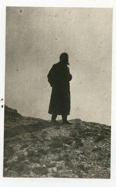 Rasputin looking at St Petersburg from Tsarskoe Selo  via adski_kafeteri