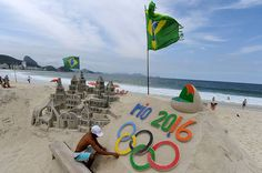 At the Rio Olympic Games, up-and-coming athletes like Laetitia Beck and Niek Kimmann will view for a gold medal. Rio Olympic Games, Rio Brazil, Olympic Athletes, Olympics, Beach Mat, The Past, Outdoor Blanket, Lifestyle, Rio 2016