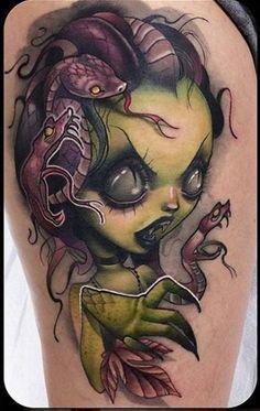 Medusa Tattoos | Inked Magazine                                                                                                                                                      Más