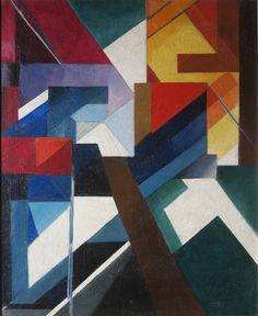 lawrenceleemagnuson:  Alexandra Exter (Russia 1882-1949)Painterly Construction (1921)oil on canvas 88 x 72 cm