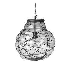 West Elm Organic Blown Glass Pendant, Large by West Elm $169
