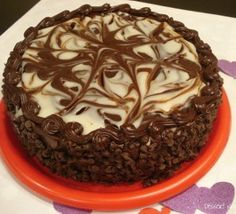 Just Like Olive Garden's Black Tie Mousse Cake   RecipeLion.com