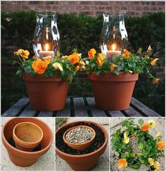 These Terracotta Candle Planters are Simply Fabulous