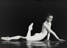 Sylvie Guillem. One if my top three favorite dancers in the world.