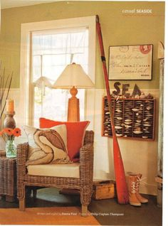 nautical living room