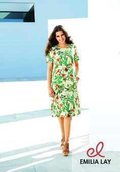 Blumen Kleid von Anna Aura #flower power #blumenprint #blumenpracht