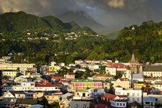 Roseau, Dominica. Dominica Island in the Sun - Gary Trotman @Steelasophical UK Steel band http://www.steelband.co.uk/west-indies