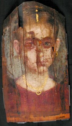 Mummy Portrait UC36215 -The Petrie Museum of Egyptian Archaeology, London.