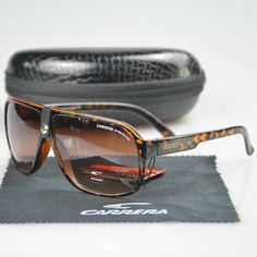 Fashion Men /& Women/'s Retro Sunglasses Unisex Matte Frame Carrera Glasses C-19