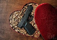 Fun DIY valentines gift wrapping for your gun totin' boyfriend or husband. Gun gift ideas for gun enthusiasts. Valentines Diy, Valentine Day Gifts, Fathers Day Gifts, Bushcraft, Kubo And The Two Strings, By Any Means Necessary, Love Gun, Wade Wilson, My Guy