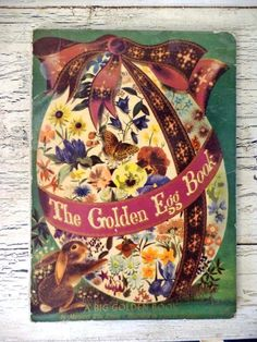 Hey, I found this really awesome Etsy listing at https://www.etsy.com/listing/185218918/the-golden-egg-book-vintage-easter-gift