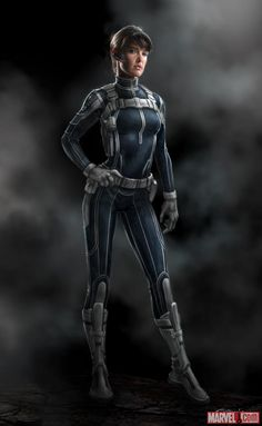 Check out this concept art of Maria Hill by Andy Park for Marvel's The Avengers!