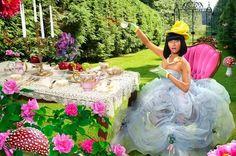 Nicki Minaj tea party
