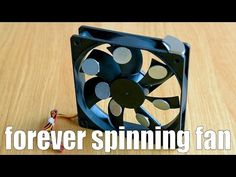 forever spinning fan - YouTube