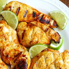 Kickin' Chicken Marinade – Only 4 ingredients, Frank's RedHot, Olive Oil, Lime Juice and Garlic! So simple. So Good.