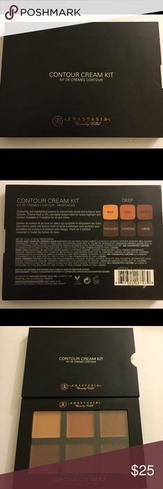 Anastasia Beverly Hills Contour Kit - Deep Anastasia Beverly Hills Contour Kit - Deep. Brand new In box. This kit contains six Rich, pigmented creams, for effortless  highlight & contouring. Anastasia Beverly Hills Jewelry Bracelets