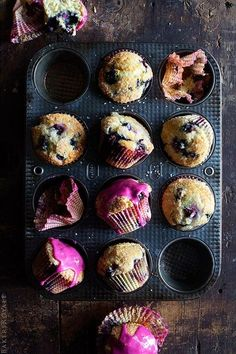 Recipe:  Easy Blueberry Muffins