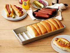 American Made Hot Dog Bun Pan