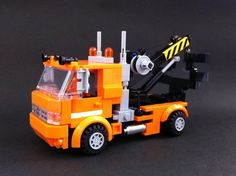G1 Transformer Huffer (mini figure scale / transformable): A LEGO® creation by alex wong : MOCpages.com
