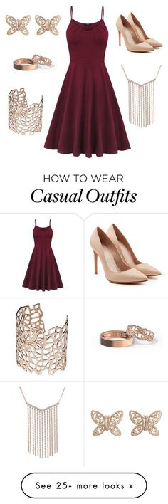 """Fancy Casual"" by fmwinchester on Polyvore featuring Alexander McQueen, Candela and Co.Ro"