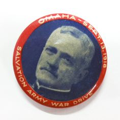 Pin, The Salvation Army & US General Pershing
